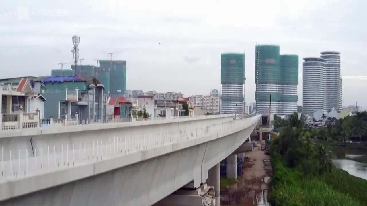 Tuyến metro ở Sài Gòn sau 6 năm thi công